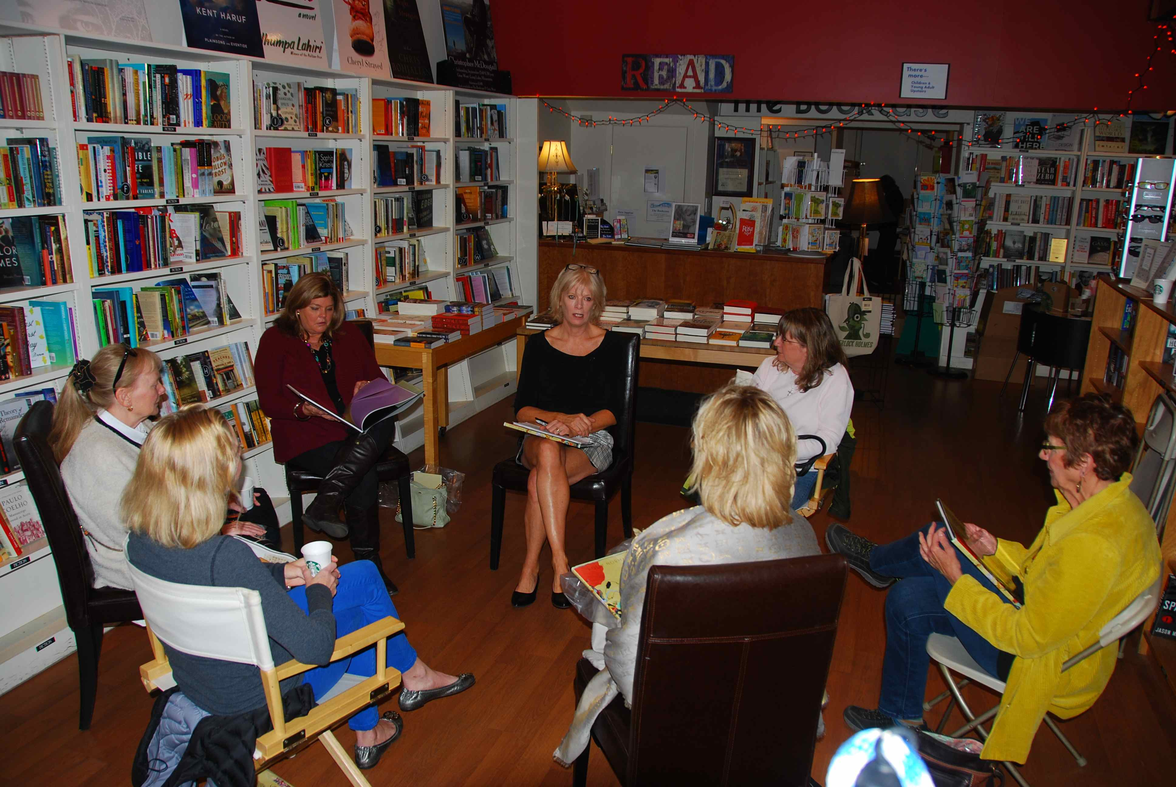 Book Launch Party For Dances Through Glass Held At The